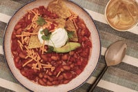 Vegetarian Ranch Bean Chili Recipe