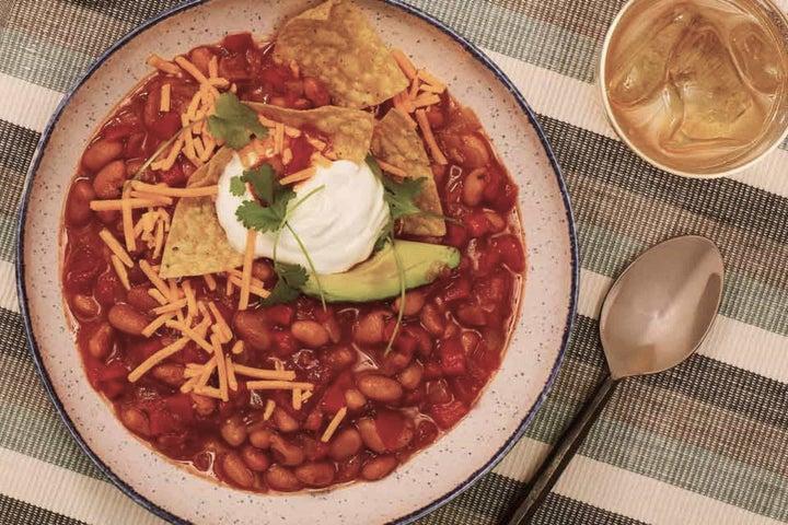Vegetarian Ranch Bean Chili