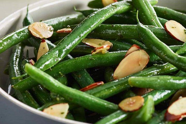 Warm Ranch Green Bean Salad
