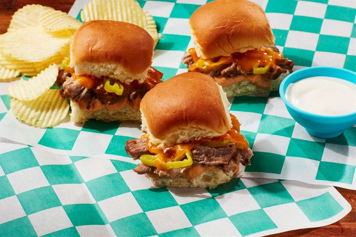 How to Make Pulled Pork Sliders with Cheese & Ranch