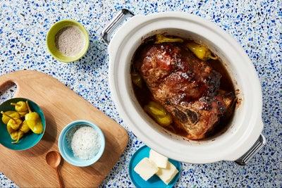 Slow Cooker Mississippi Pulled Pork