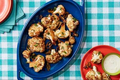 Mississippi Roasted Cauliflower Bites