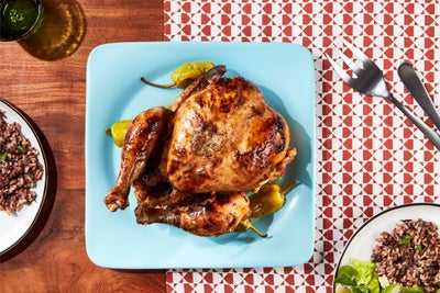 Whole Roasted Mississippi Chicken