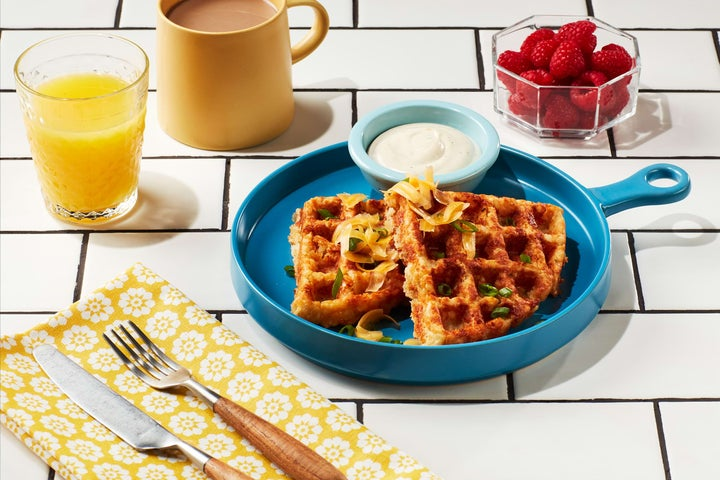 Easy Tater Tot Waffles