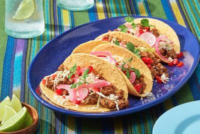 Ground Beef Original Ranch® Tacos